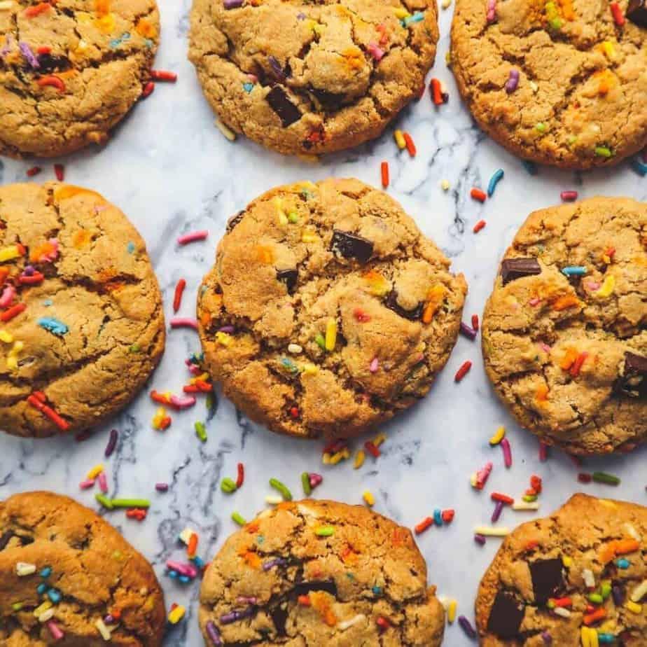 the best gluten free chocolate chip cookie